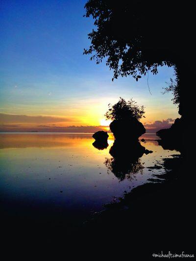 Hidden Rocks Wowphilippines Itsmorefuninthephilippines Visitph2015 Siquijor Sanjuan Beachphotography Sunset #sun #clouds #skylovers #sky #nature #beautifulinnature #naturalbeauty #photography #landscape Siquijorisland Beach 4March