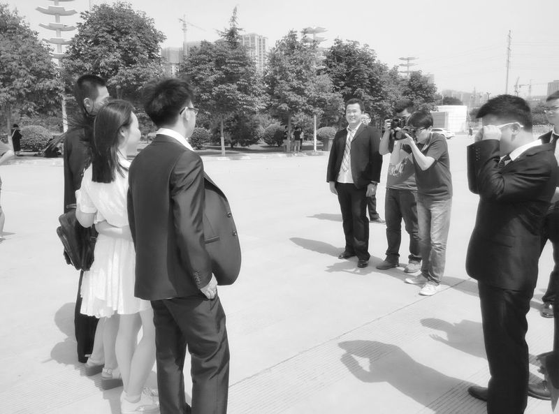 毕业季 手机摄影 Taking Photos School