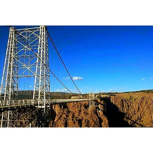Little blurry, taken on an old phone. Royal Gorge Bridge. Enjoying Life Check This Out Relaxing First Eyeem Photo