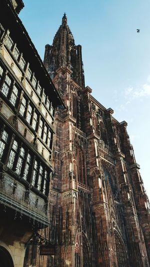 Stassburg Straßburg Kathedrale Epochal Frankreich Elsass Historical Building Straßbourg