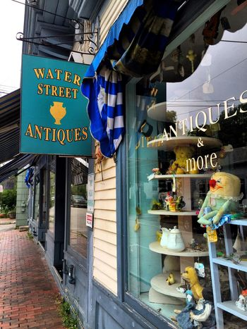 Antique Shop Taking Photos Downtown Out And About Local Shops Maine Carol Sharkey Photography
