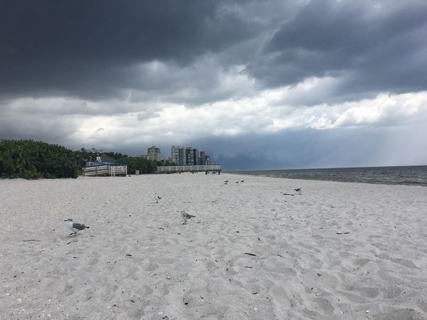 EyeEm Best Shots Rainy Days Architecture Beach Beauty In Nature Cloud - Sky Day Environment First Eyeem Photo Horizon Land Nature No People Non-urban Scene Sand Scenics - Nature Sea Sky Storm Tranquil Scene Tranquility Water