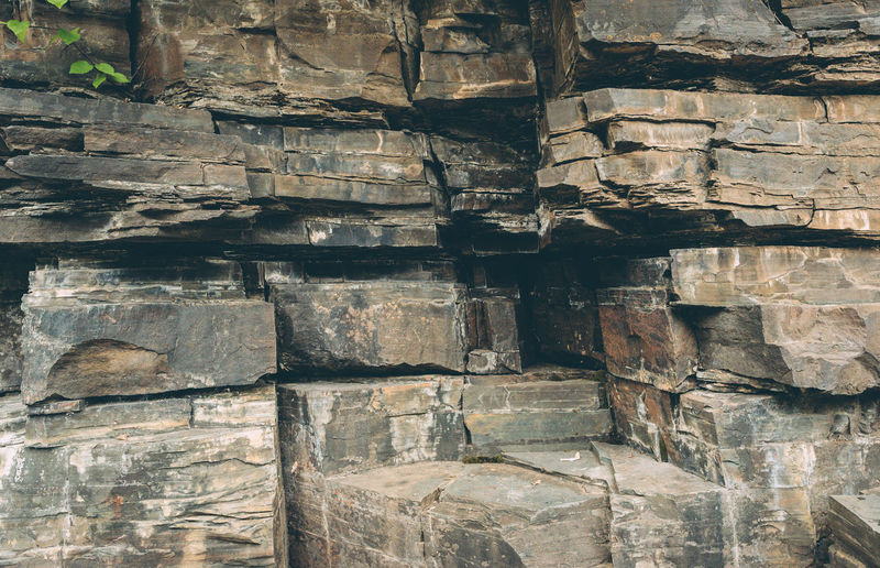 Architecture Backgrounds Building Exterior Built Structure Close-up Day Full Frame Layered Nature No People Old Outdoors Pattern Rock Rock - Object Rough Solid Stone Wall Textured  Wall Wall - Building Feature