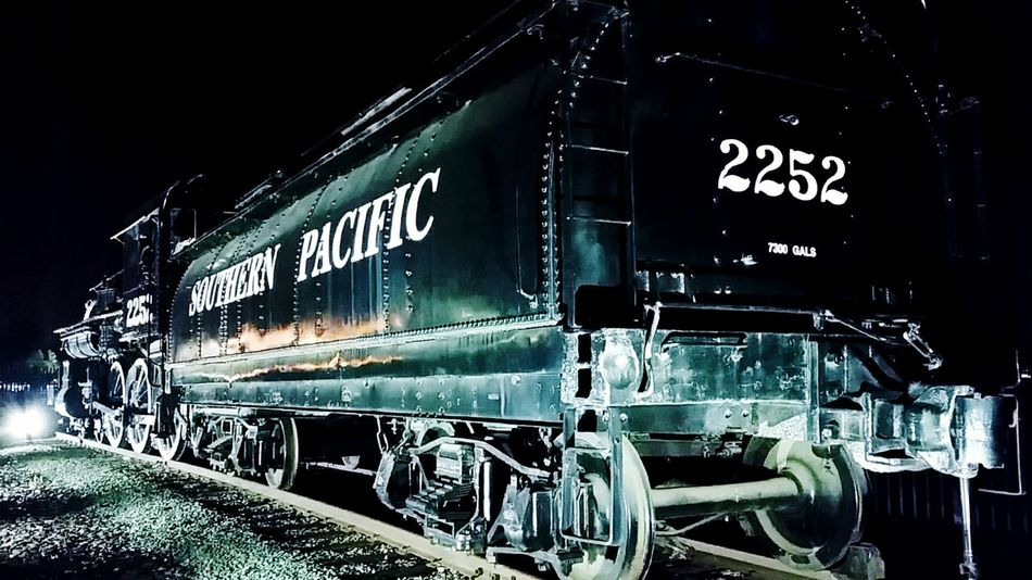 Train Southern Pacific Railroad Roseville Ca