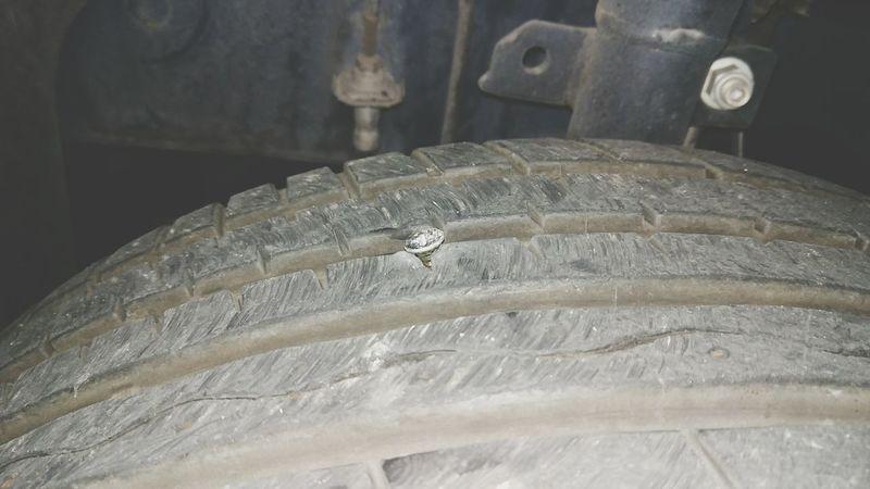 Wheel, prick, puncture