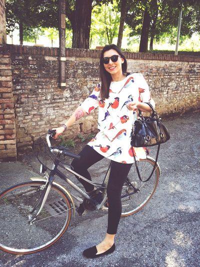 Saturday! Sun! Bicycle!