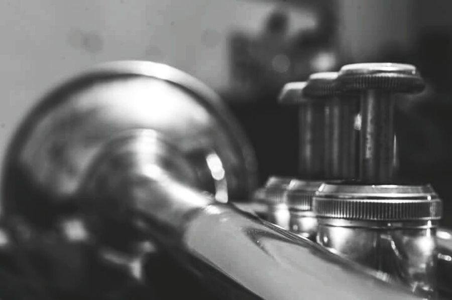 Trumpet Close-up Musical Instrument Music Bandgeek Shiny Brass