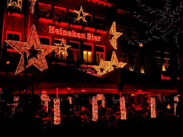 Christmas Christmas Decoration City Illuminated Nightlife Outdoors EyeEmNewHere