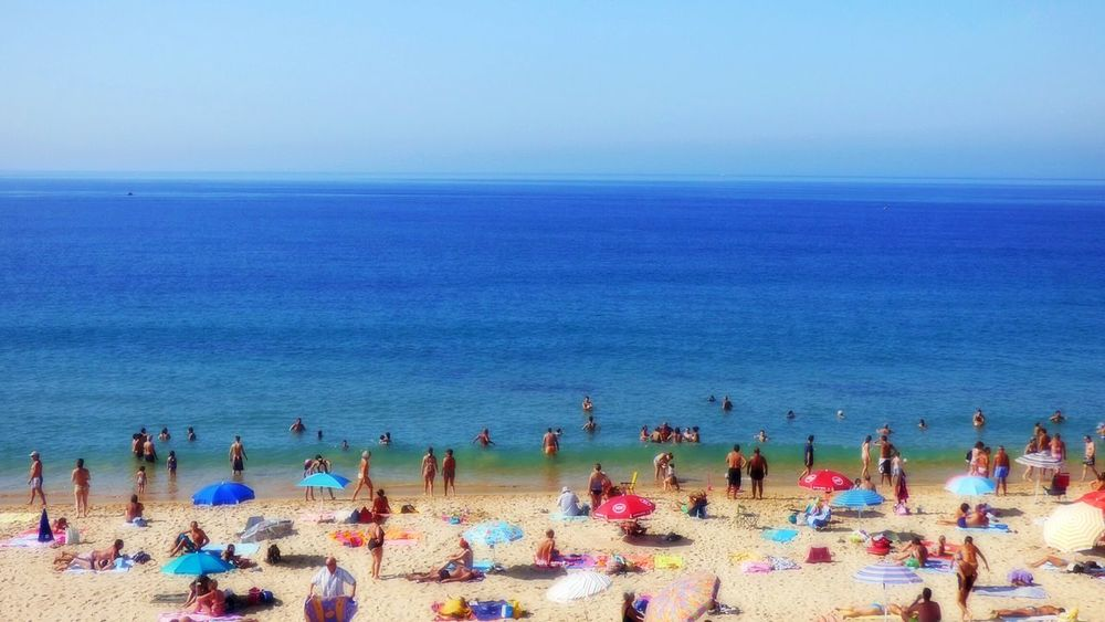 The Summer2016 Summers Day People On The Beach Fresh On Eyeem  Eyeemphoto Week On Eyeem People On Beach Seascape Beach Life Leisure Activity Blurry On Purpose Blurred Photos.