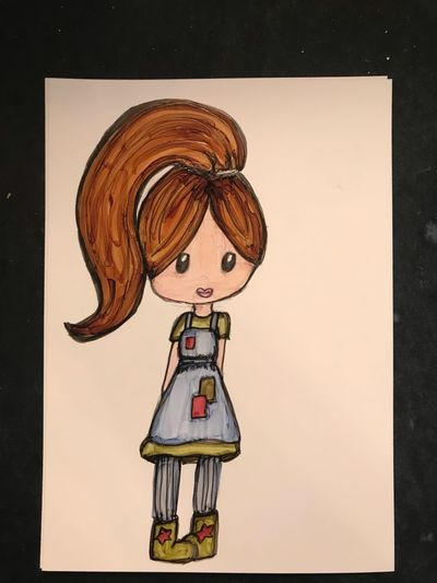 Sweet little girl EyeEm Selects Creativity Art And Craft No People Representation Still Life Human Representation Female Likeness Indoors  Craft Multi Colored