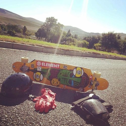 Smashing the old favourite.. Wish the groms were here @jensevdh @danielvdh and the Macinator.. Longboarding ProjectSkateBoards Sector9