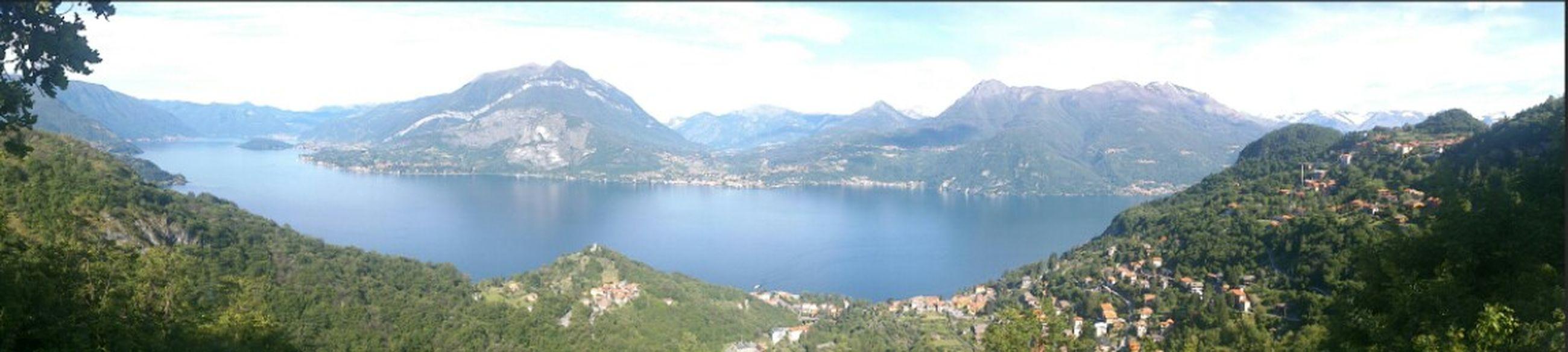 Lago di Lecco visto da Esino Lario