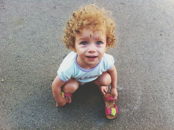 So Adorable Lovely <3 The Most Beautiful Girl In The World Blue Eyes <3