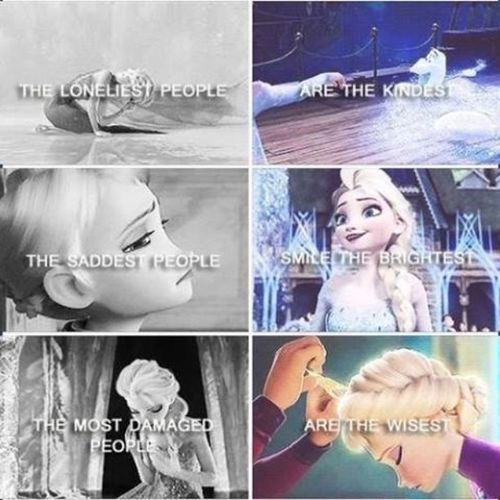 All them are me. Frozen Staystrong