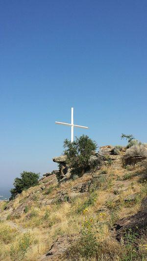 Day Clear Sky Cross