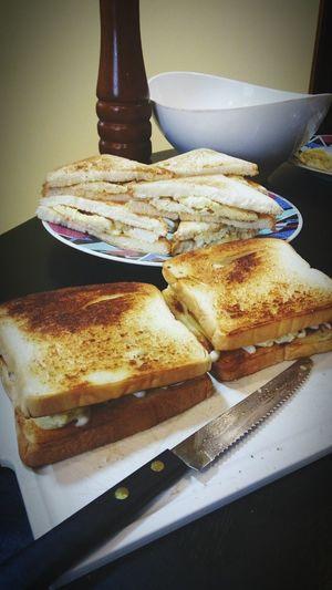 Morning 🤗 EggSandwich Toasted Sandwich
