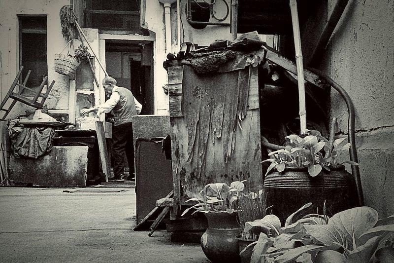 Memory of Shanghai. @Don Sven Lee, Shanghai. Cityscapes Oldschool
