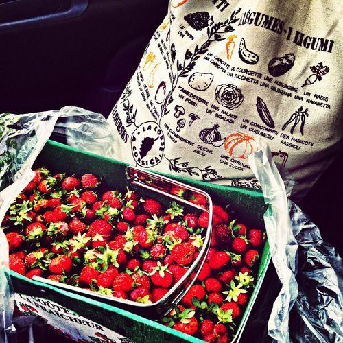 Organic Food Strawberries