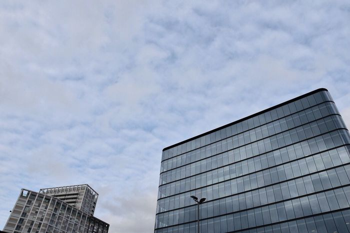 Architecture Minimalist Architecture Architecture Building Exterior Built Structure Low Angle View Sky Cloud - Sky Modern City Outdoors No People Building Day Skyscraper Office Block Copy Space Sky And Clouds Buildings & Sky Architecture_collection Modern Architecture Building And Sky Getty X EyeEm EyeEm Masterclass EyeEm Gallery Minimal Architecture