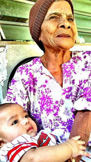 In memory of old lady with her great grandchildren. Portrait Happiness Smiling Looking At Camera Front View Cheerful Real People Human Face Close-up Perak, Malaysia The Portraitist - 2017 EyeEm Awards EyeEmNewHere Live For The Story BYOPaper!