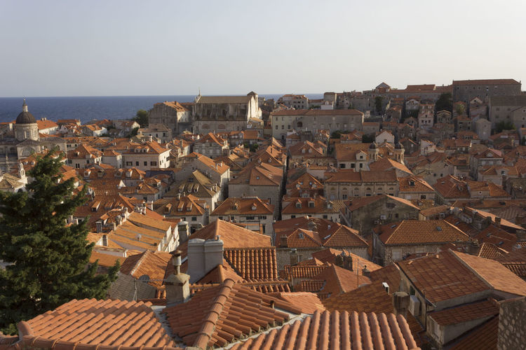 Dubrovnik Dubrovnik, Croatia Croatia Outdoors Cityscape Architecture Building Exterior Built Structure Roof Sky Building Residential District City Clear Sky House No People High Angle View Nature Town Day Community Travel Destinations Roof Tile TOWNSCAPE