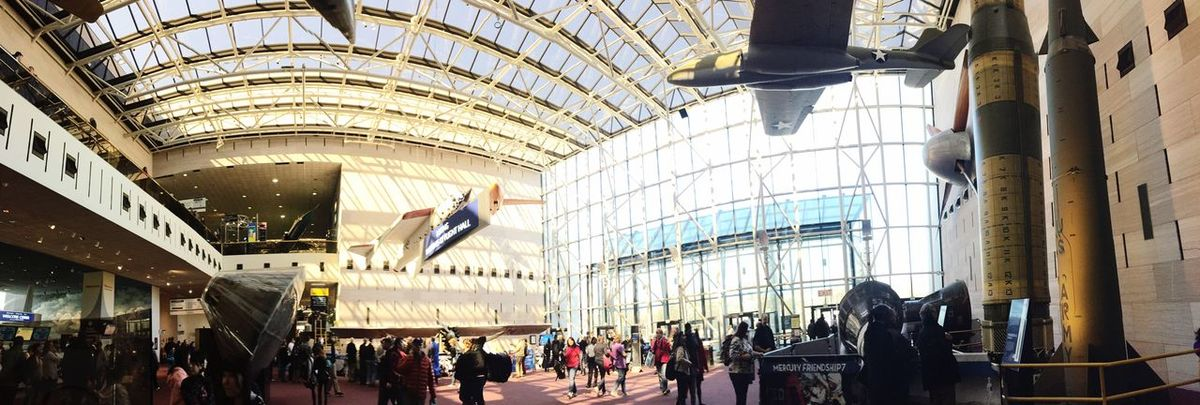 National Air And Space Museum Streetphotography Panorama