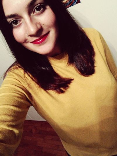 Yellow Sweater Fall Is Coming 🍁🍂autumn Portrait