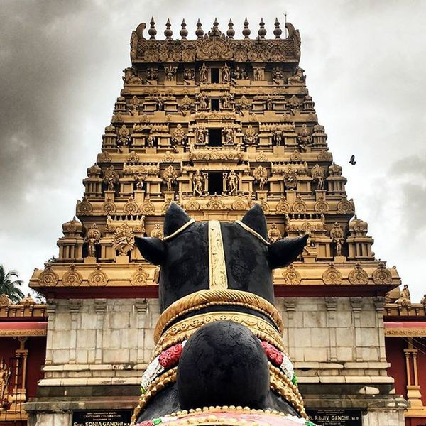 Nandi Temple Fpcindia Instagram Instagood Fotor Fotor_apps Kudroli