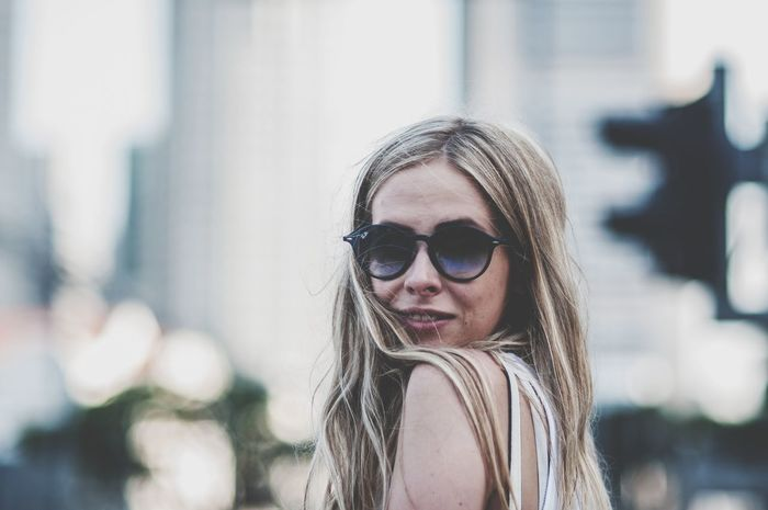 Eyeglasses  One Person Young Adult One Woman Only Only Women Day Focus On Foreground Portrait People Adult Headshot Young Women Long Hair Adults Only One Young Woman Only Outdoors Human Body Part Human Face Looking At Camera Women Fashion Beautiful People Beautiful Woman EyeEm Selects Sunglasses