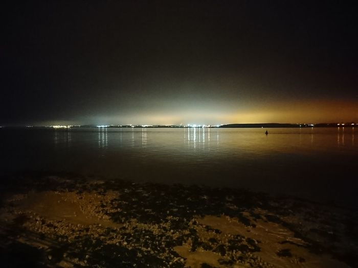 Liverpool Waterfront. Low Tide Night Nofilter
