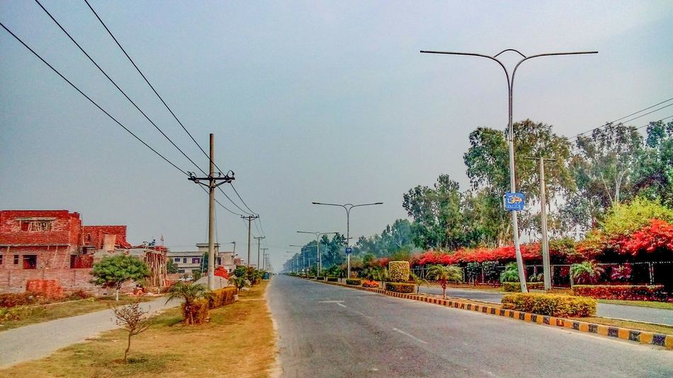 Morning view in Dc Colony Dccolony Itsgreenitspakistan Gujranwala Pakistan Morning Onroad Clicking