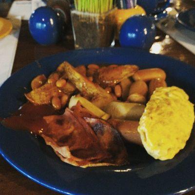 Breakfast ala2 western... 😂😂😂