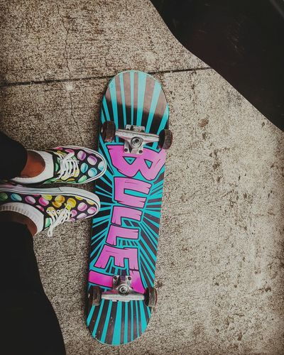 Multi Colored Guadeloupe 971 Gosier Skatelife Skateboard Skatergirl Skate Or Die Skateboarding Bullet Me Macaroons Macarons Vans Vans Off The Wall Vansshoes Vans Authentic Vansoffthewall