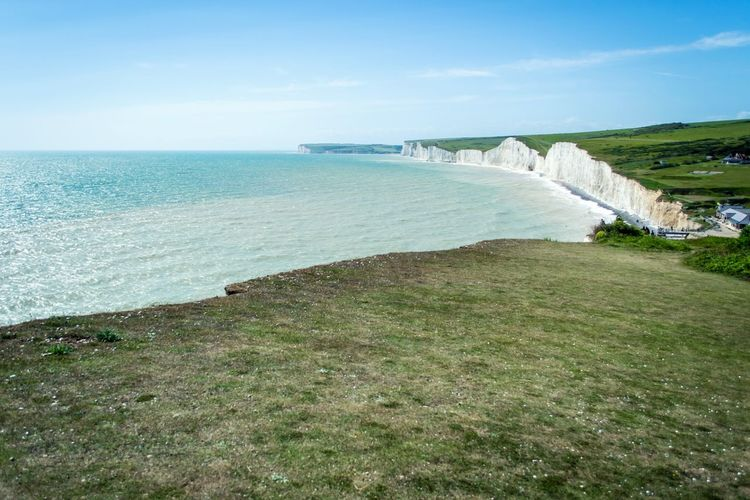 Seven Sisters Cliffs Whitecliff England Daytrip Walk Landscape Summer2015 Amazing View Sea And Sky Nature The KIOMI Collection