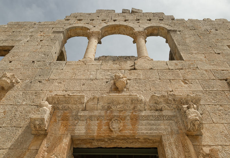 Alahan Monastery Alahan Monastery Alahan The Monastery Ancient Ancient Civilization Arch Archaeology Architecture Building Exterior Built Structure Column Faithful History Monastery Mut Old Ruin Religious  Religious Architecture Sky And Clouds Stone Material The Past Travel Destinations Turkey