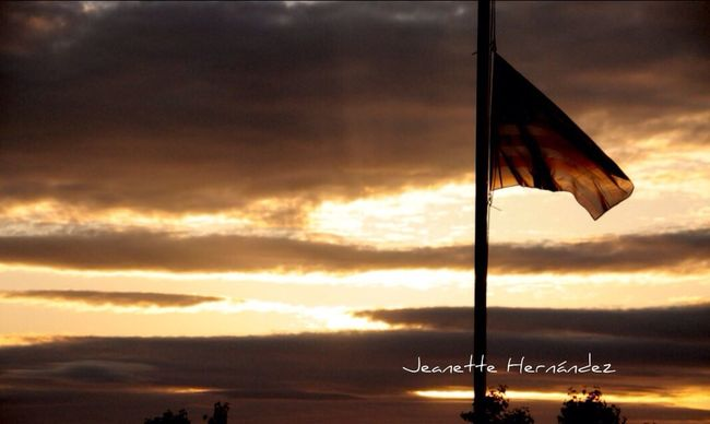 Flag Day. Sunset Streamzoofamily StreamzooPics