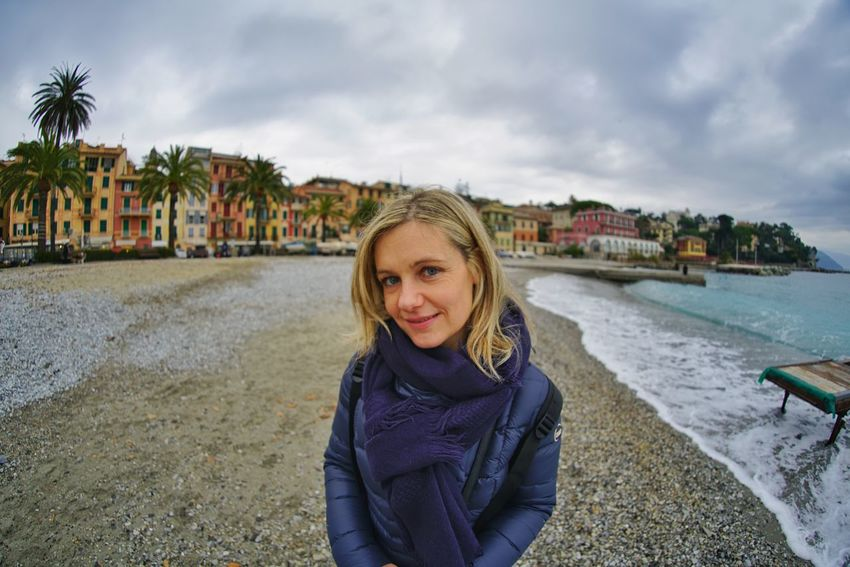 Portrait Looking At Camera Blond Hair One Person Smiling One Woman Only Only Women Cloud - Sky Young Adult Outdoors One Young Woman Only People Happiness Adult Sky Day Young Women Water Mare D'inverno Sonya7r2 Lucariva Sonyimages📷 Sony A7r2 Sea Travel Destinations Connected By Travel