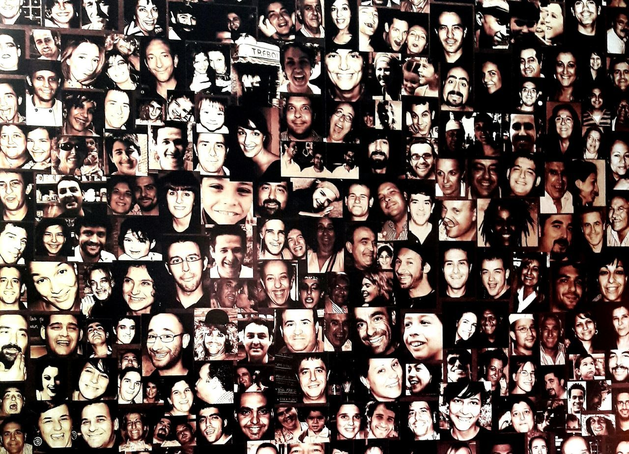 backgrounds, abundance, full frame, real people, men, indoors, day, people