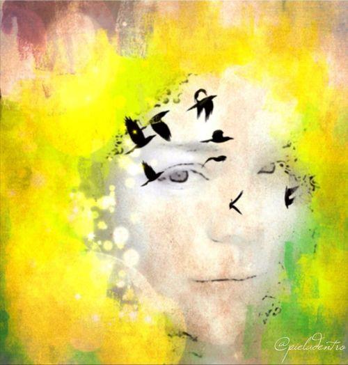 Melancholia ... NEM Painterly NEM Self WeAreJuxt.com C Desnuda