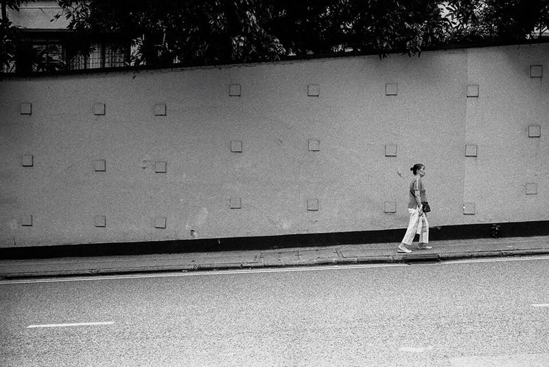 B&w Street Photography Walking Alone... Leicacamera Film Neopan First Eyeem Photo