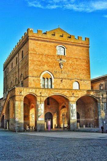 """""""Museo Emilio Greco"""" - Orvieto Orvieto Photobydperry Museo Architecture Built Structure Building Exterior Travel Destinations Historical Place Museum Orvieto, Italy Italy Italia"""
