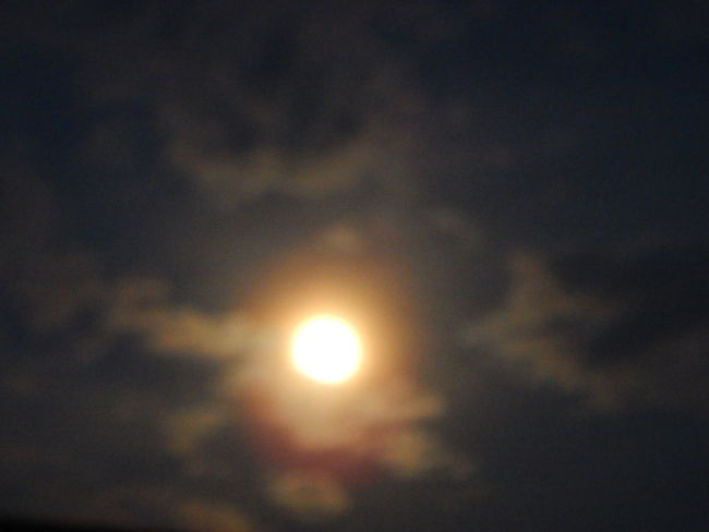 Blurry On Purpose Clouds And Sky Moon Night