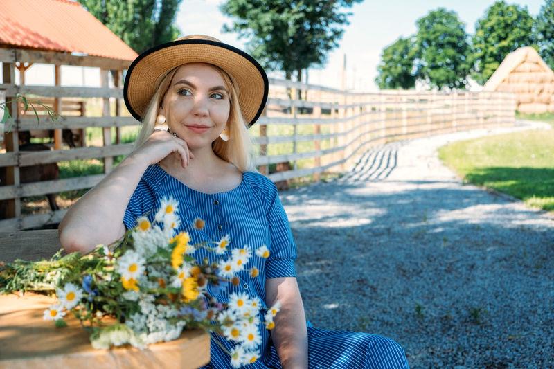 Cottagecore, countryside aesthetics, farming, farmcore, countrycore, slow life. young girl