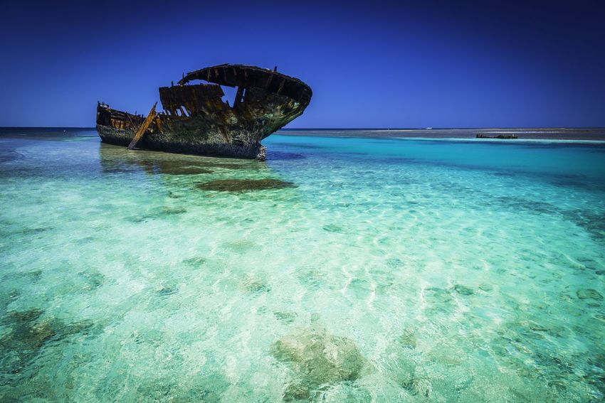 Wrecked Heron Island, Australia Wreck Beach Beauty In Nature Blue Clear Sky Day Great Barrier Reef Horizon Over Water Nature No People Outdoors Scenics Sea Shipwreck Shipwrecks Sky Tranquility UnderSea Water
