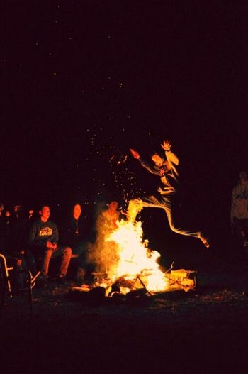Lost in fire Jumping For Joy