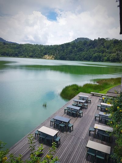 Peace And Quiet Mountain Beautiful Nature Lake View Lakeshore Lakeside Linow Manado Tomohon Calm Scenics