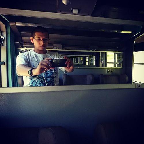 El pelonchas en el tren :p ja
