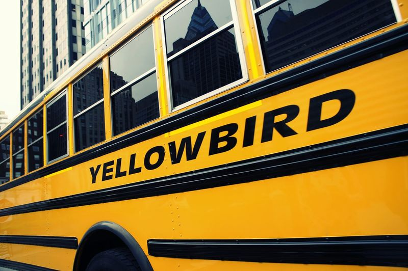 From My Point Of View New York City Chrislerbuilding Photographic Memory Holid Bus Yelow Transport