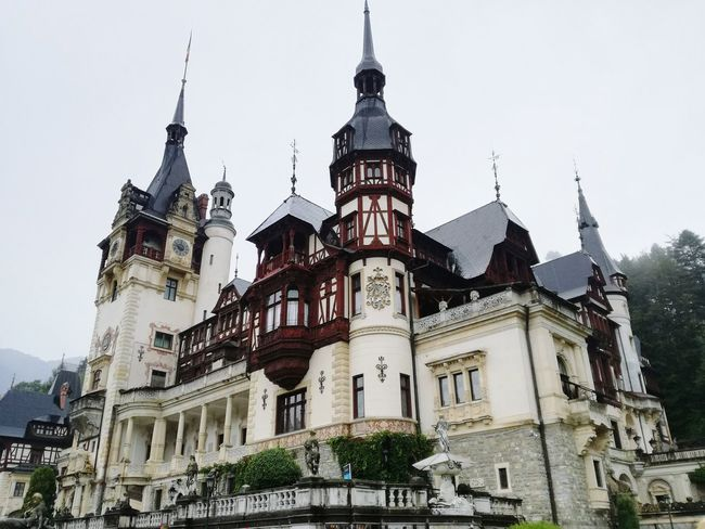 Peles Castle Peles Romania Transylvania Transilvania Castle