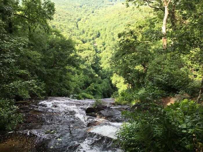 Fine Art Photography Top Of Mountain Waterfall